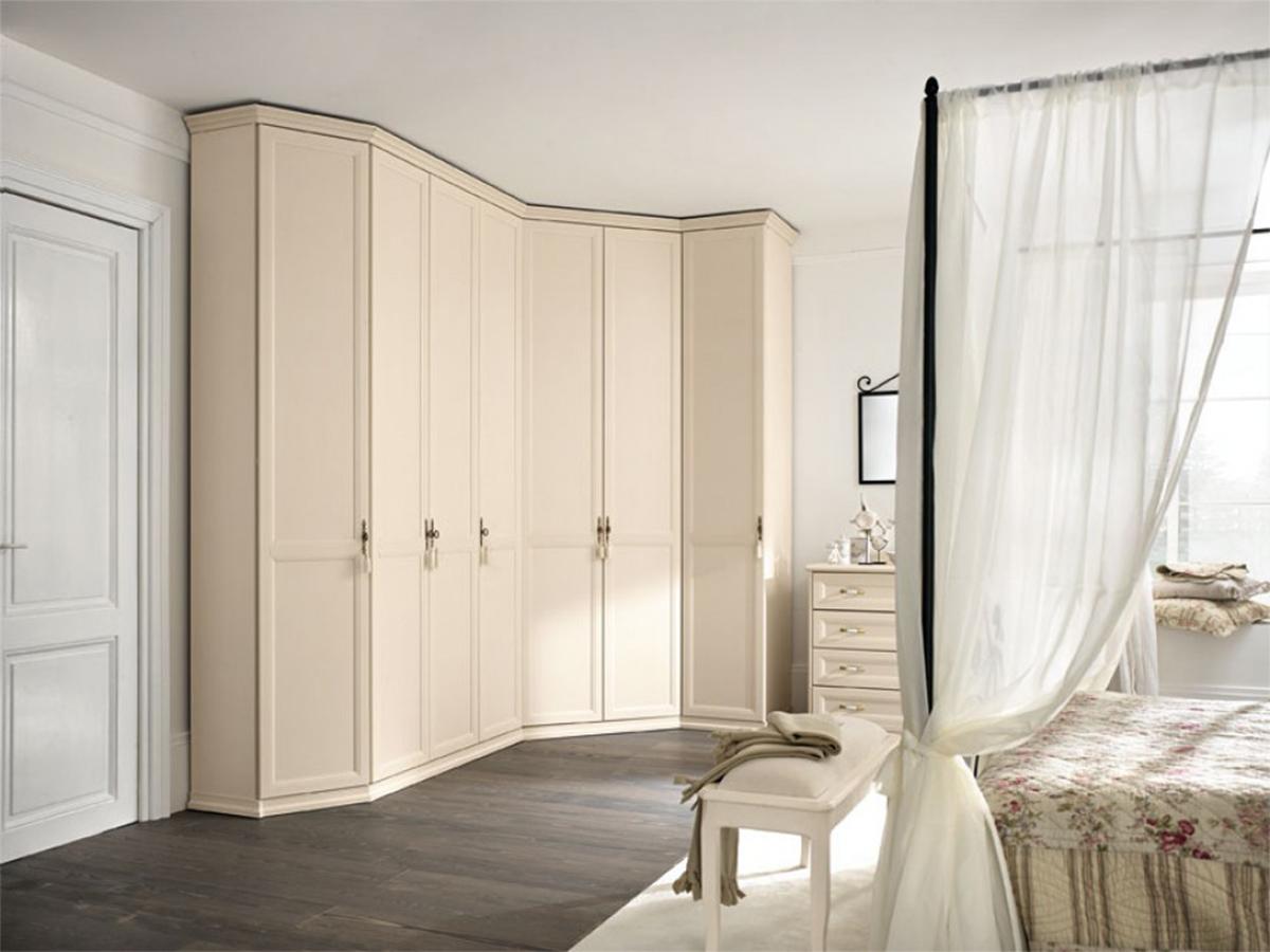 Armadi Classici Ad Angolo.Armadi In Stile Classico Torino Sumisura Fabbrica Arredamenti