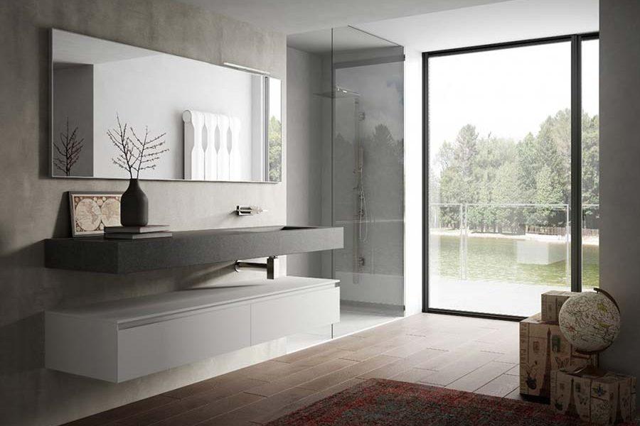 bagni in stile moderno torino | sumisura fabbrica arredamenti - Immagini Di Arredo Bagno Moderno
