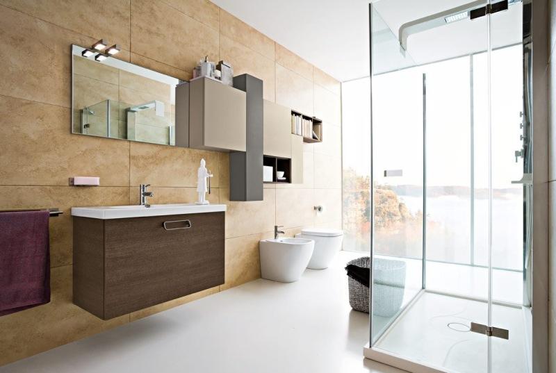 Bagni in stile moderno Torino | SUMISURA Fabbrica arredamenti
