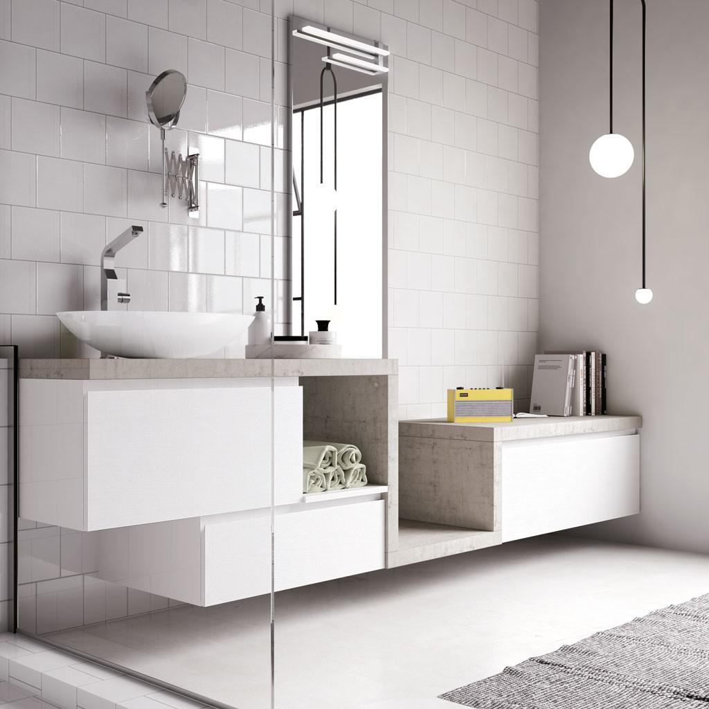 Bagni in stile moderno torino sumisura fabbrica arredamenti - Mobile bagno lago prezzo ...