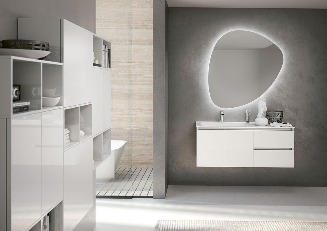 Bagni in stile moderno torino sumisura fabbrica arredamenti - Costo rifacimento bagno torino ...