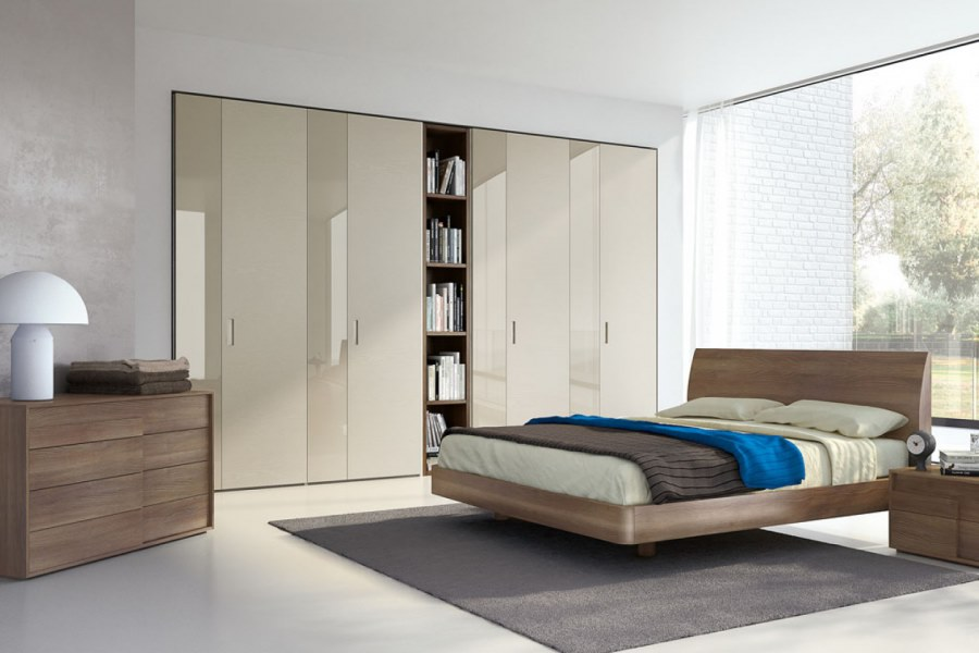 Camere da letto Moderne Torino - SUMISURA fabbrica Arredamenti