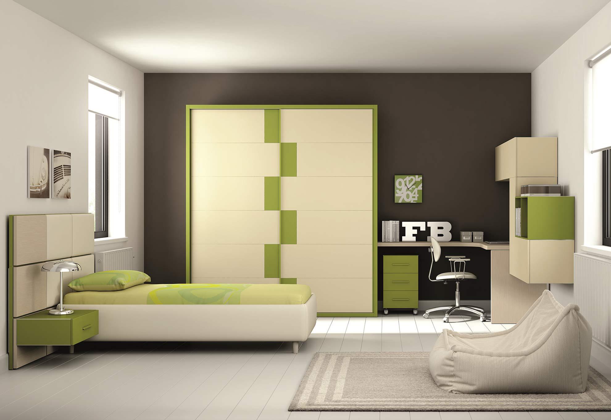 Camerette in stille moderno torino sumisura fabbrica for Fabbrica mobili torino