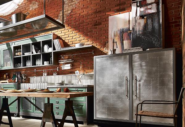 Cucine Industrial Vintage
