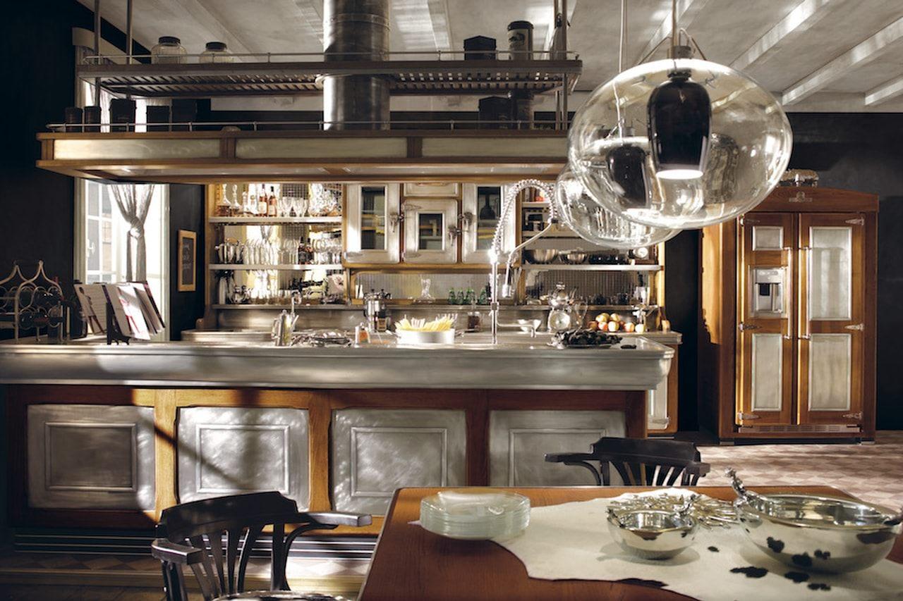 Cucina vintage arredamenti sumisura torino - Cucine classiche di lusso ...