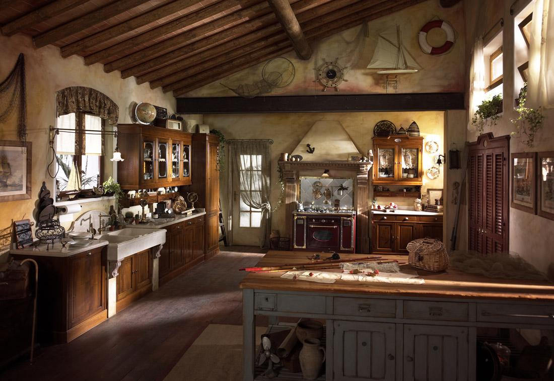 Cucina vintage arredamenti sumisura torino
