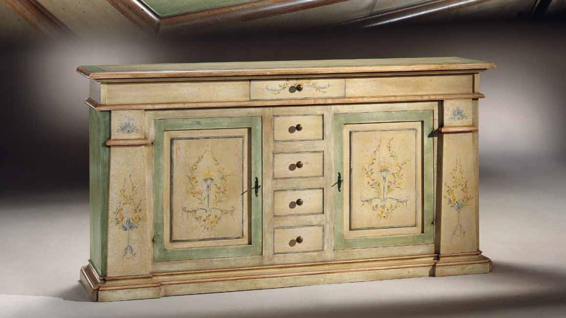 Soggiorni in stile classico torino sumisura fabbrica for Fabbrica mobili