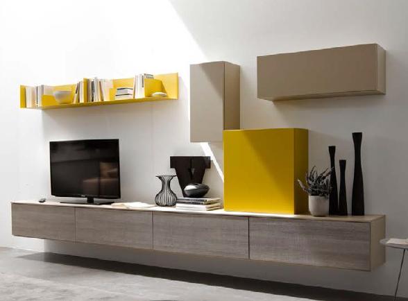 Soggiorni in stile moderno Torino  SUMISURA Fabbrica Arredamenti