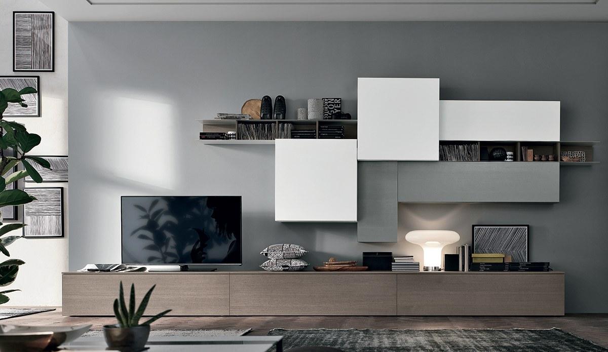 Soggiorni in stile moderno Torino | SUMISURA Fabbrica Arredamenti