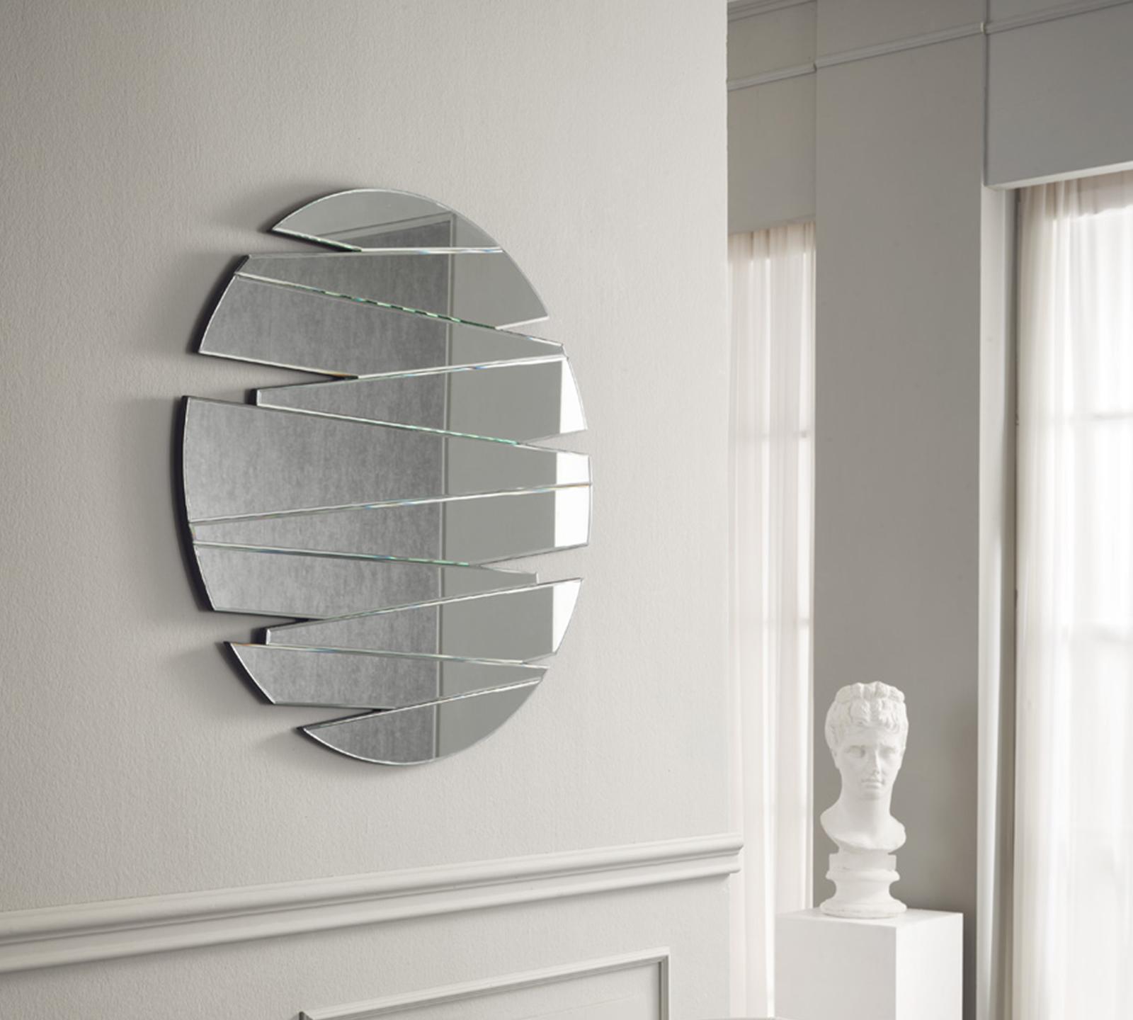 Specchio da arredo arredobagno cleo da cm mobile bianco for Specchi arredo