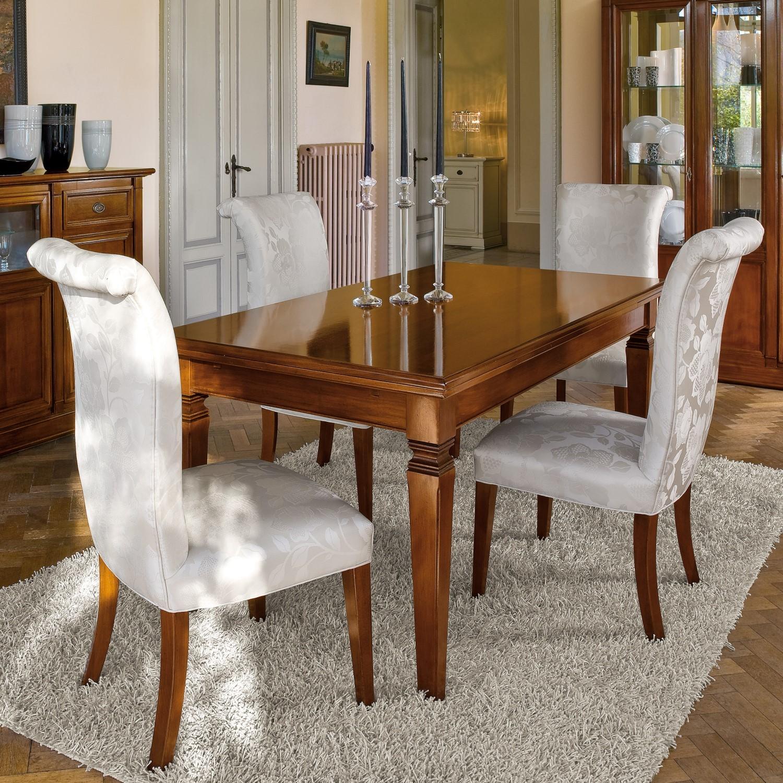 Tavoli e sedie stile classico torino sumisura arredamenti for Sedie da tavolo moderne