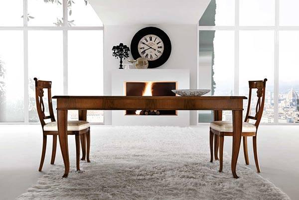 Tavoli e sedie stile classico torino sumisura arredamenti - Sedie e tavoli torino ...