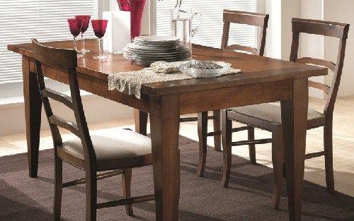 Tavoli e sedie stile classico torino sumisura arredamenti for Sedie in arte povera