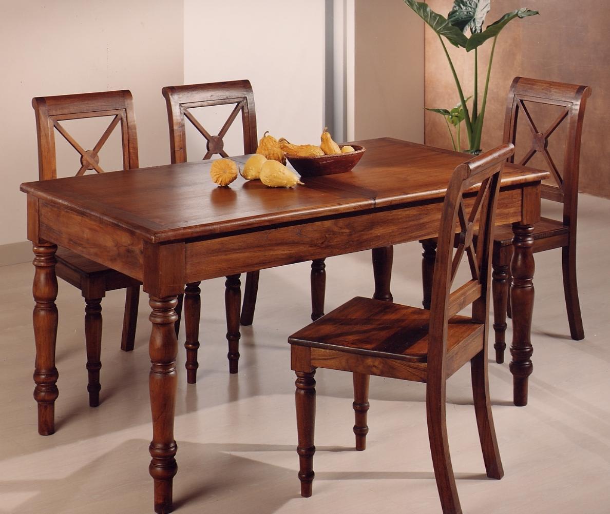 Tavoli e sedie stile classico torino sumisura arredamenti - Sedie e tavoli da cucina ...