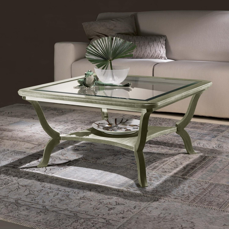 Tavolini per ingressi sala e salotti sumisura fabbrica for Tavolini vetro
