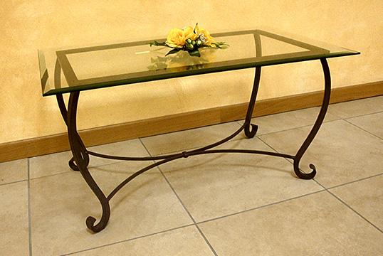 Tavolini per ingressi sala e salotti sumisura fabbrica for Tavolini in ferro battuto per esterni
