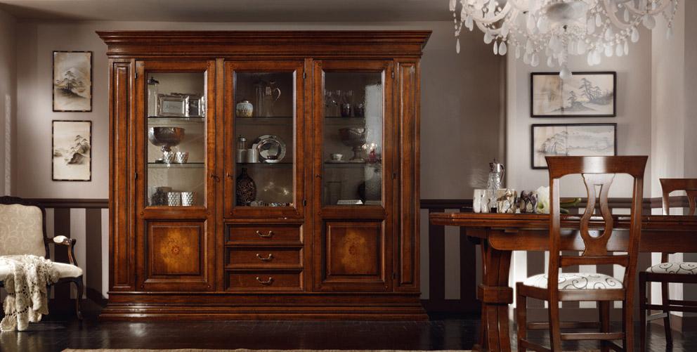 Soggiorni in stile classico Torino  SUMISURA Fabbrica Arredamenti